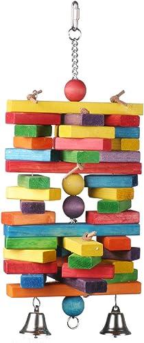 Super Bird Creations 19 n-Holzstapel Vogel Spielzeug, X-Large