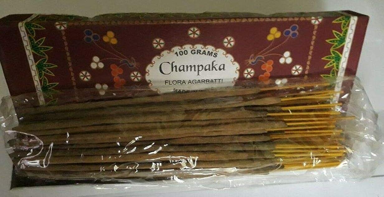 Champaka チャンパカ Agarbatti Incense Sticks 線香 100 grams Flora Incense Agarbatti フローラ線香