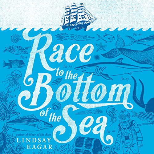 Race to the Bottom of the Sea audiobook cover art
