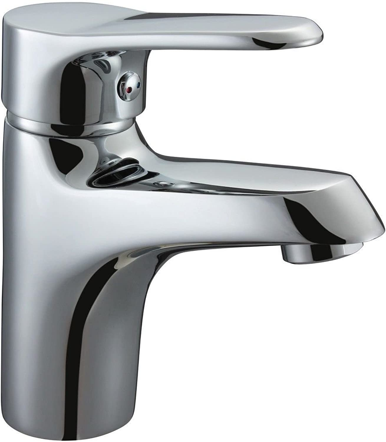 ETERNAL QUALITY Bathroom Sink Basin Tap Brass Mixer Tap Washroom Mixer Faucet Basin faucet hot and cold bath counter basin sink mixer Kitchen Sink Taps