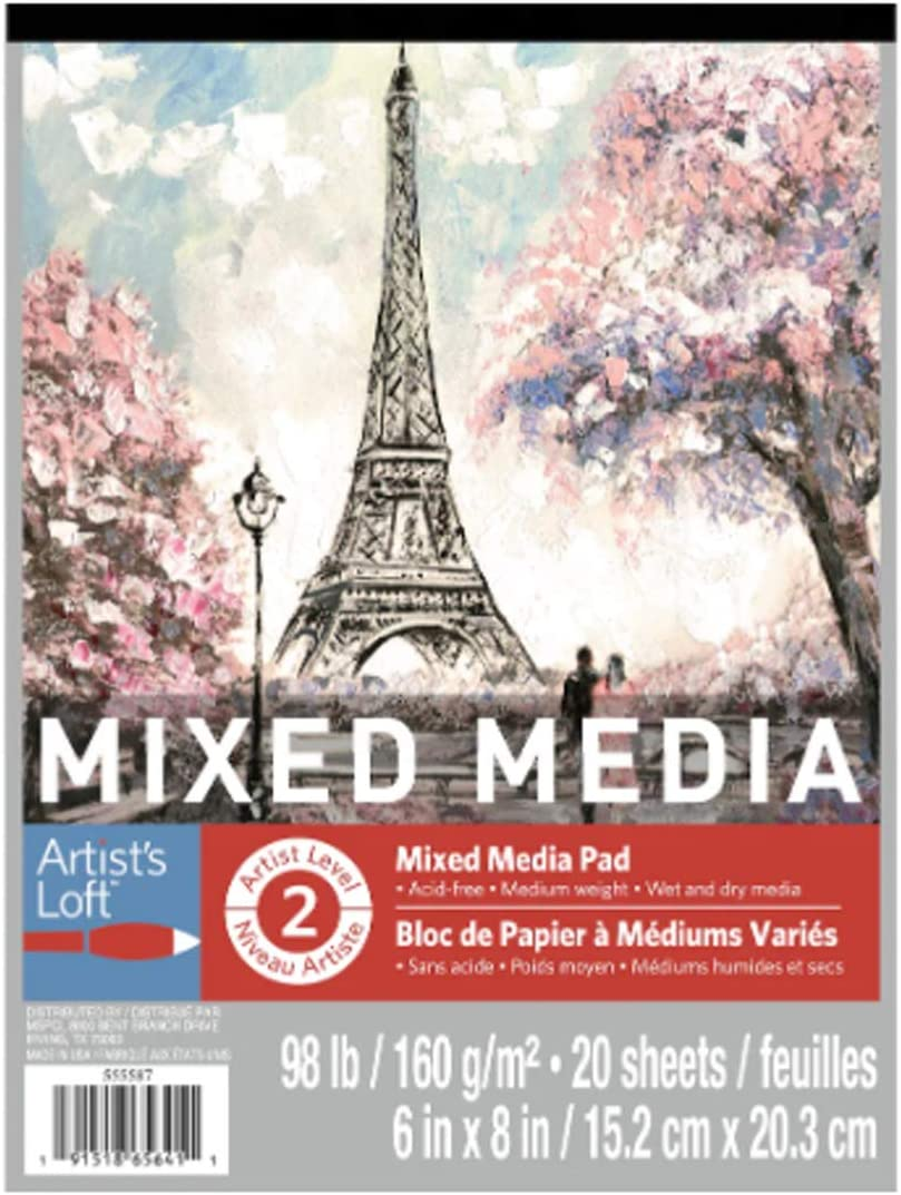 12 Pack: Mixed Media Pad by Loft Cheap mail order shopping 8