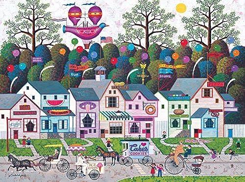 Buffalo Games Charles Wysocki  Confection Street - 1000 Piece Jigsaw Puzzle by Buffalo Games by Buffalo Games