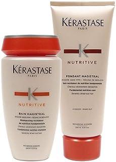 Kerastase Bain Magistral Shampoo, 8.5 oz and Kerastase Nutritive Fondant Magistral Conditioner 6.80 oz