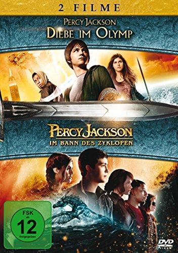 Percy Jackson - Diebe im Olymp/Percy Jackson - Im Bann des Zyklopen [2 DVDs]