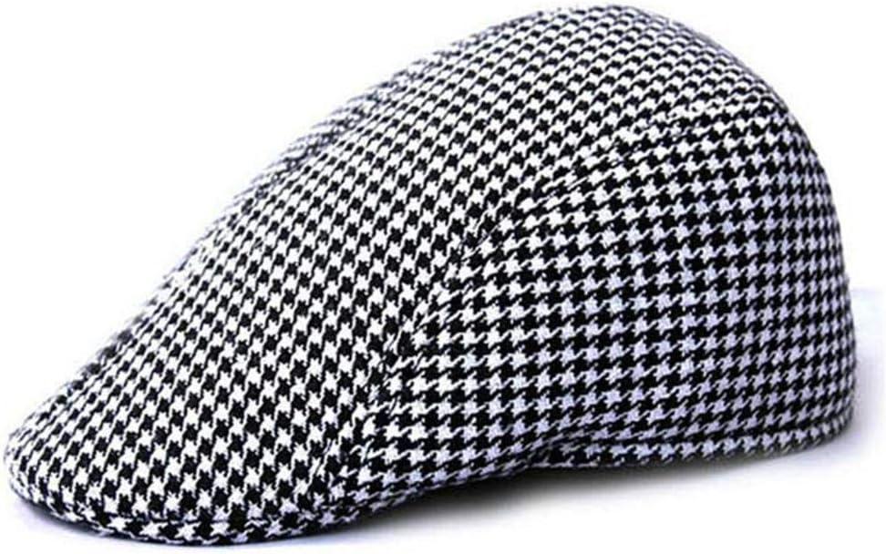 KDABJD Ladies Newsboy Cap Beret Taxi Driver Cap Flat Cap