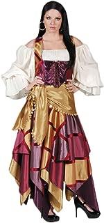 Women's Gypsy Woman Dress Theater Costume