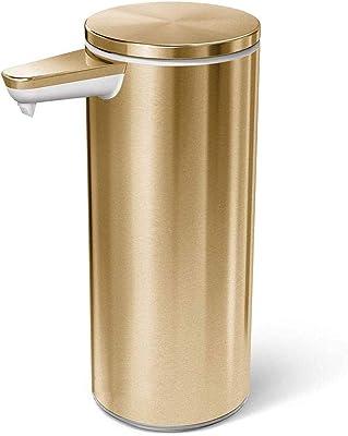 スマートローションソープディスペンサー デスクトップ自動石鹸ディスペンサー手消毒ボトル誘導乳化装置ドロップレス真鍮ステンレス鋼ステンレス鋼キッチン石鹸ポンプ真鍮