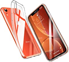 ESR Coque pour iPhone XR, Bumper Housse Etui de Protection Transparent en Silicone TPU Souple [Ultra Fin] [Ultra Léger] pour iPhone XR 2018 6,1 Pouces (Série Jelly, Transparent)