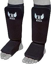Boom Pro MMA espinilleras Pierna Almohadillas Kick Boxing Muay Thai MMA formación pie Protective Gear Artes Marciales
