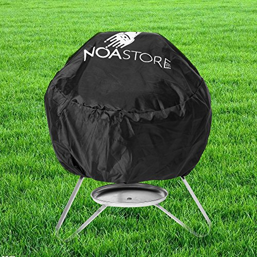 BBQ Grill Cover w/ drawstring fits Weber Jumbo Joe Gold 18