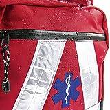 Basic Medical Supply BMS - Zaino di salvataggio, rot, wasserdicht, 1