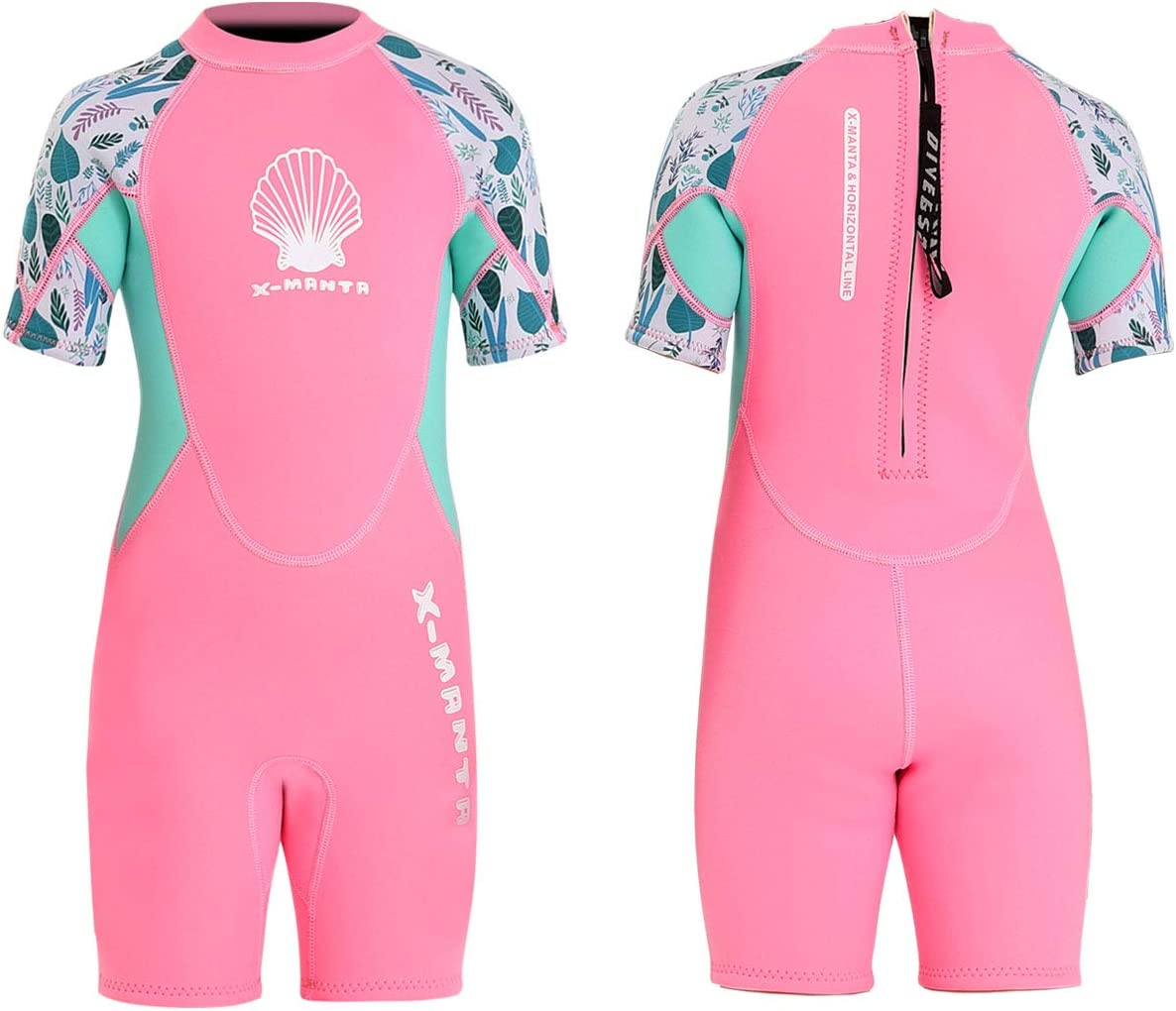 DIVESAIL Kids Wetsuit Brand Cheap Sale Venue Full High material Suits Girls N Boys 2.5mm Shorty