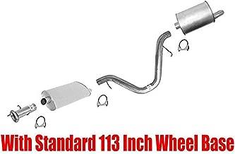Muffler Exhaust System for Chevrolet Trailblazer 4.2 w 113 Inch Wheel Base 02-05