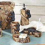 moose soap dispenser - Climbing Black Bears Bath Set - Set of 4