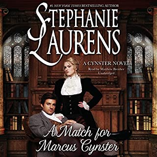 A Match for Marcus Cynster audiobook cover art