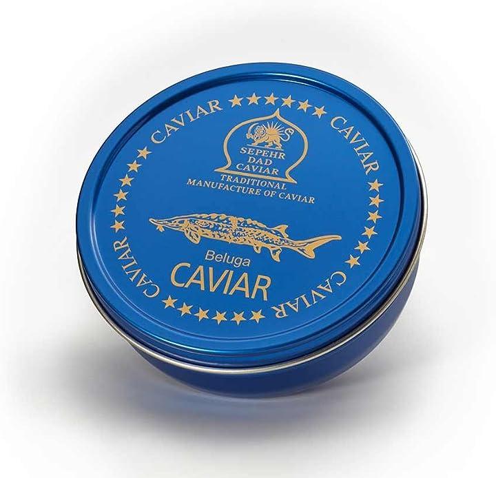 Originale caviale beluga (50 gr) B0132VG0CA