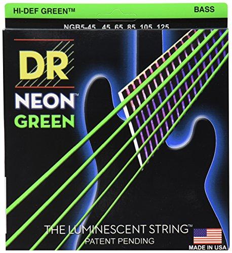 DR Strings NGB5-45 Coated Nickel Bass Saiten Medium