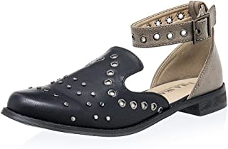 09d8c5e43da LALA IKAI Women Lace up Espadrille Flats Side Cutout Ankle Strap Holiday  Sandals with Pompon …