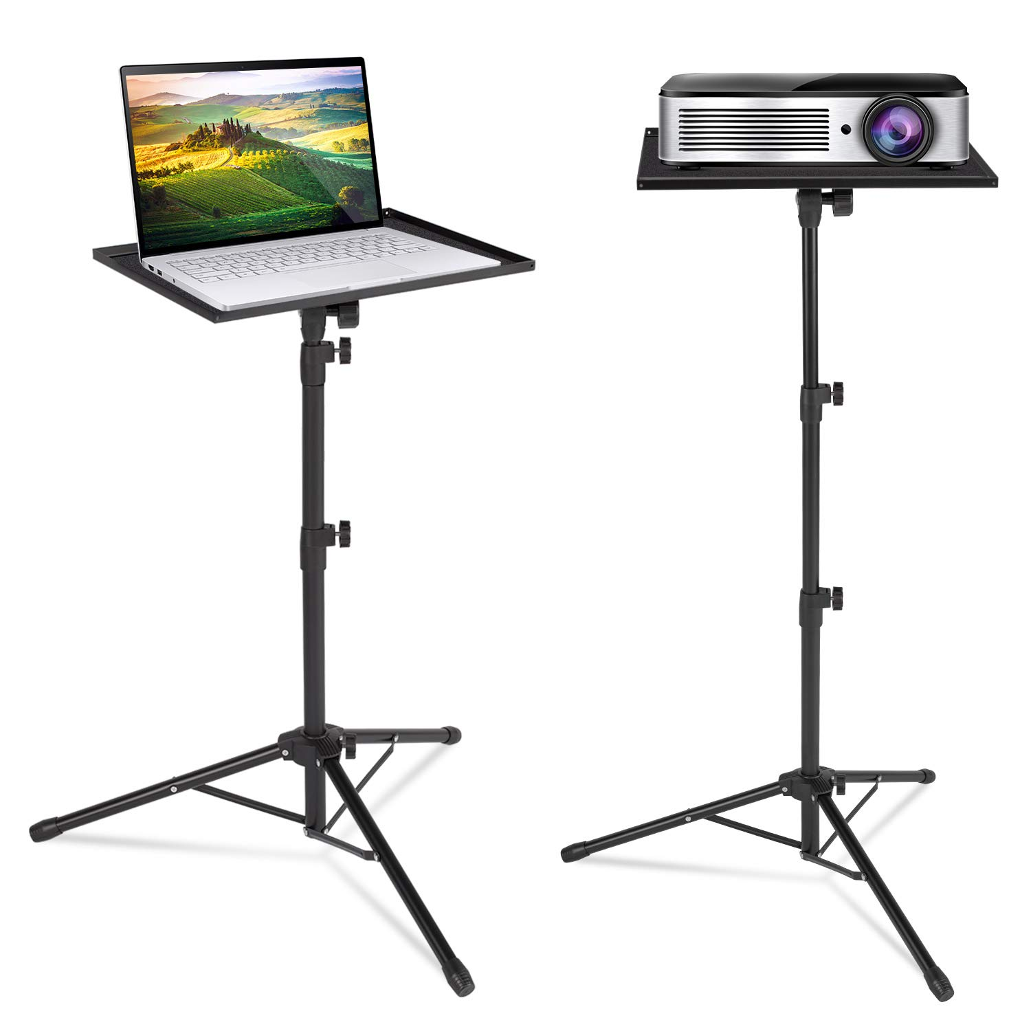 Klvied Projector Tripod Stand, Universal Laptop Tripod Stand ...
