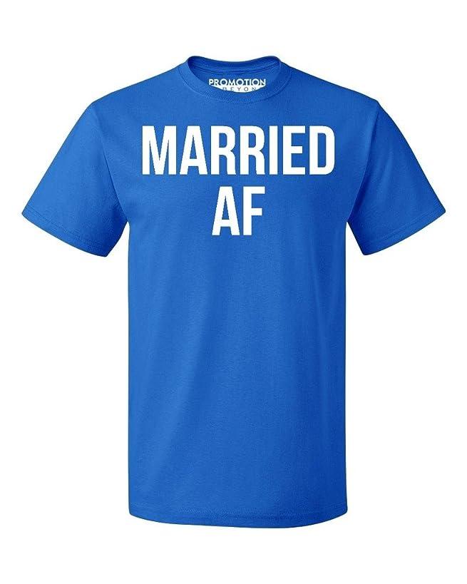 P&B Married AF Funny Wedding Men's T-shirt