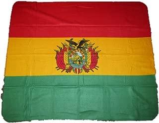 K's Novelties Bolivia Bolivian Flag 50x60 Polar Fleece Blanket Throw