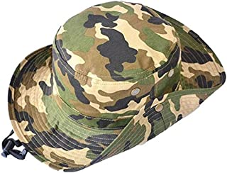 Sun Hat Bucket-Boys-Camouflage Hats Fishman Cap Packable