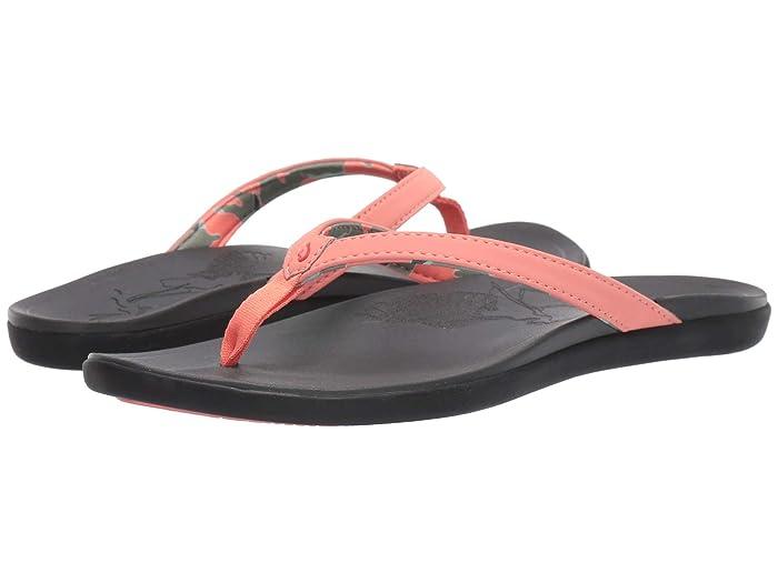 Ho'opio Ae'o  Shoes (Coral Rose/Dark Shadow) Women's Shoes