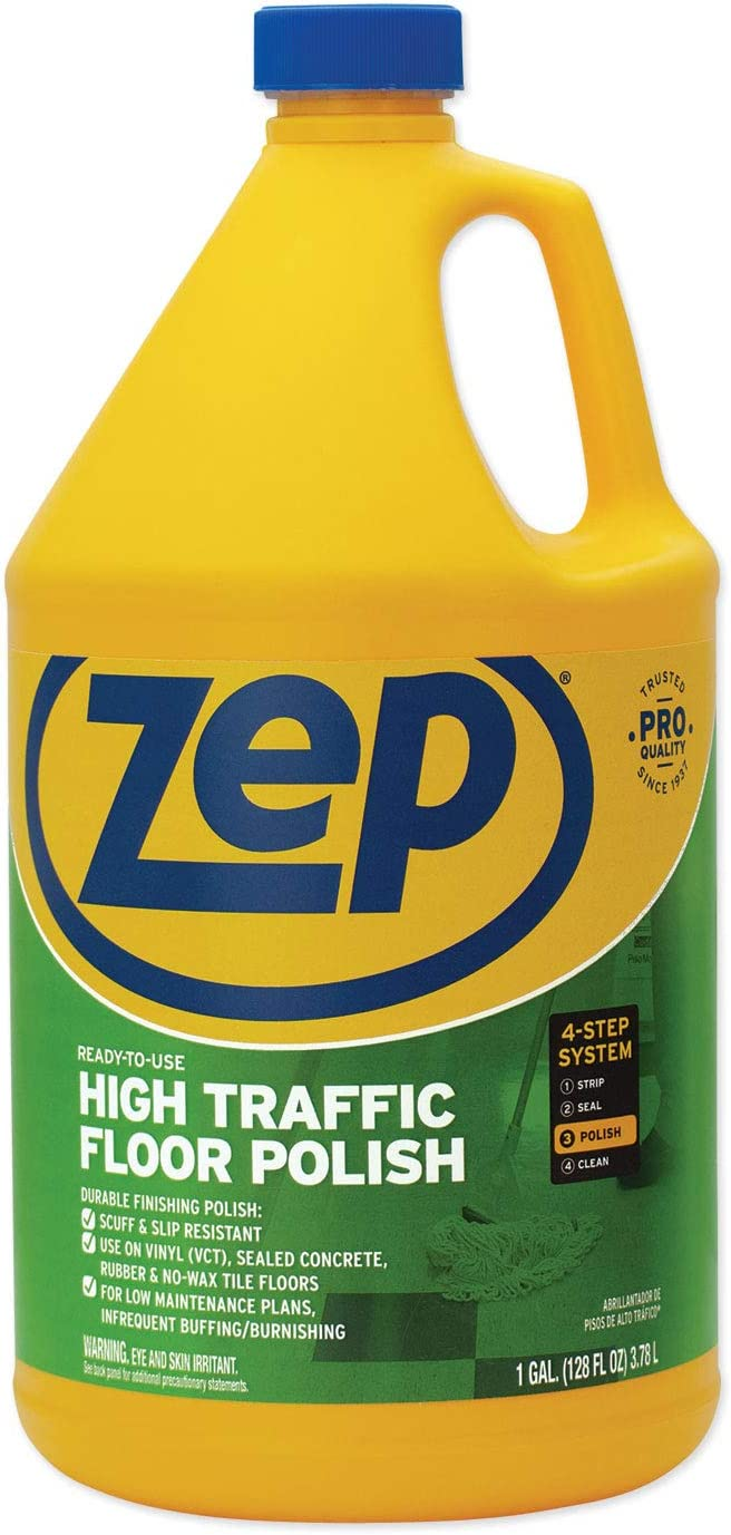 Zep Limited time trial price Commercial High Credence Traffic Floor Carton 4 gal Polish 1