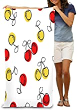 """Bath Towel Beach Towel Comfortable Quick Drying Bath Towels for Home Bathroom Pool and Gym 31""""X51"""" Cherry Good Textile Wra..."""
