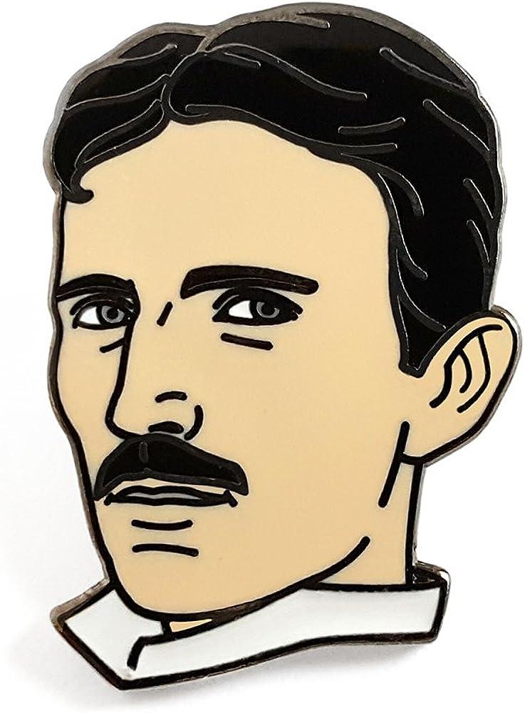 Pinsanity Directly managed store Nikola Tesla Pin Ranking TOP17 Enamel Lapel