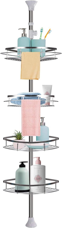 Corner Shower Lowest price challenge Caddy Rustproof Stainless Organizer Steel San Francisco Mall