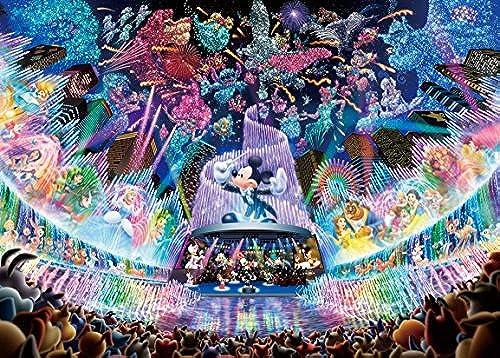 Disney 2000pcs Puzzle [Water Dream Concert]