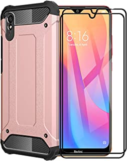 FANFO® Funda para Xiaomi Redmi 9A, protección contra Golpes de TPU + PC Resistente a arañazos (Doble Capa) Carcasa para Xi...