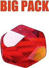 Glasperlen Rund Rot 10mm Big Pack Team Stollenwerk Angeln Inhalt 100 St.