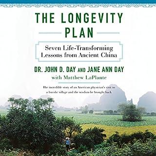 The Longevity Plan audiobook cover art