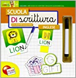 Scuola di scrittura con alette. Inglese