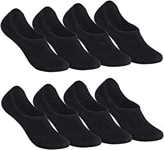 Falechay, Calcetines Invisibles Tobilleros Mujer hombre 8 Pares