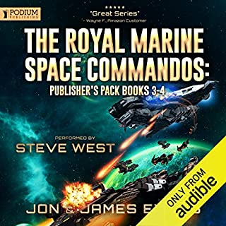 The Royal Marine Space Commandos: Publisher's Pack 2 cover art