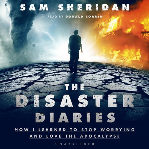 The Disaster Diaries audiobook cover art