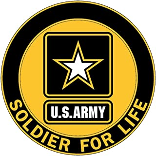 Soldier for Life Decal, US Army Logo