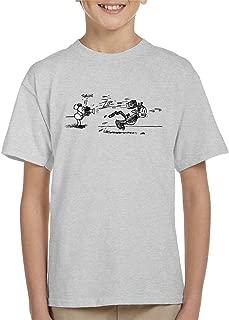 Comics Kingdom Krazy Kat Snap Throw Brick Kid's T-Shirt
