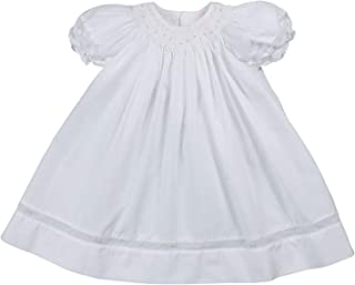 Baby Girls' Smocked Daygown with Voile Insert