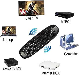 Calvas 2.4G Mini Wireless Keyboard Mouse Air Control for Android Smart TV Box IPTV HTPC Mini PC