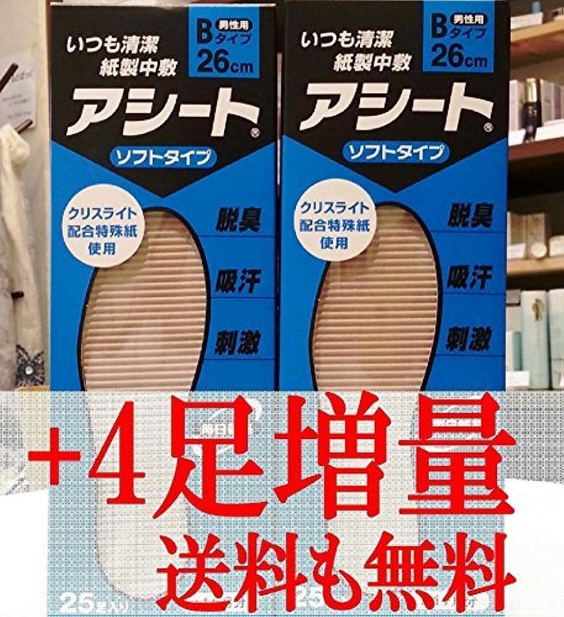 アデレードメルボルンイタリックアシートB 25足入2箱セット+4足増量中(26cm)
