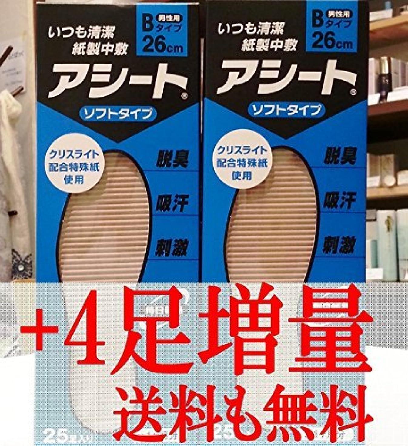 六月幽霊二度アシートB 25足入2箱セット+4足増量中(23cm)