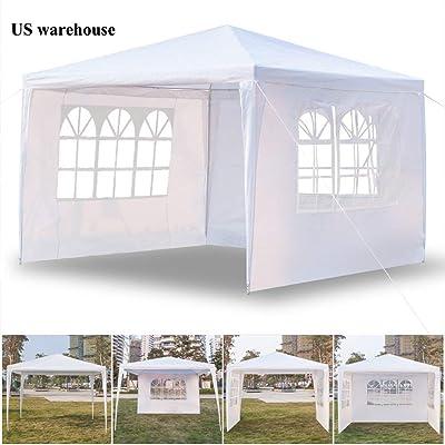 Teekland 10'x10' Outdoor Canopy Party Wedding T...