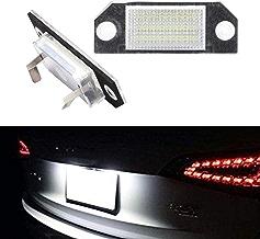 DEBBD - 2 Luces LED para matrícula de Coche de 12 V CC, 6 W, 24 LED, luz Blanca para Ford Focus 2 C-MAX