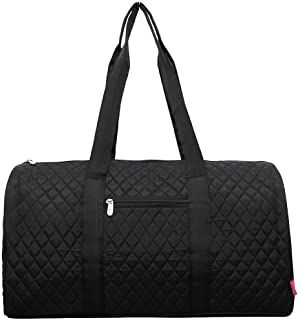 NGIL Large Quilted Duffle Bag