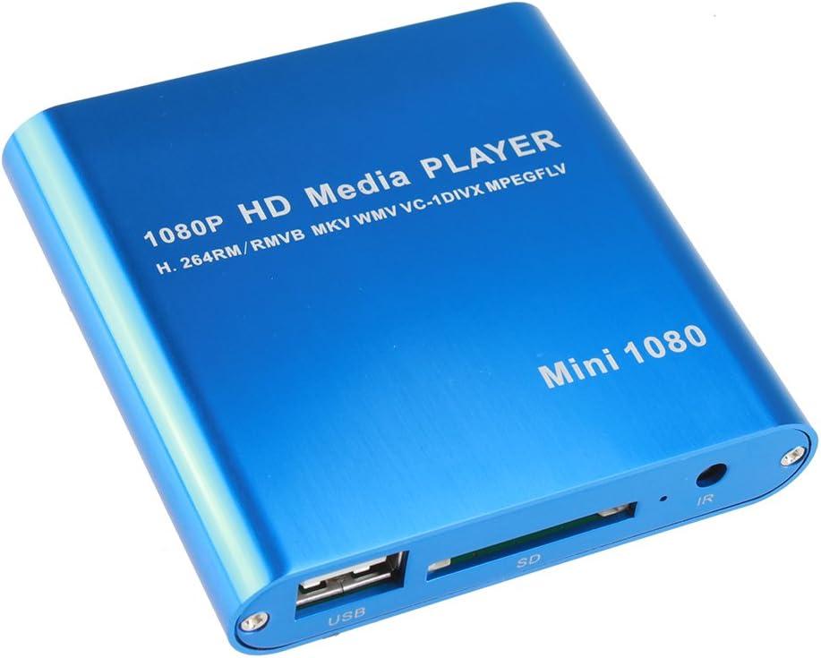 AGPtEK Popular products Mini 1080P Full HD Digital Sale special price RM-SD MKV - USB Player Media
