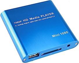 AGPtEK Mini 1080P Full HD Digital Media Player – MKV/ RM-SD/ USB HDD-HDMI
